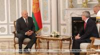 Lukashenko meets with president of International Olympic Committee