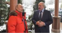 Lukashenko, Putin discuss wide range of issues during one-on-one talks